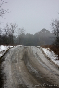 winter country road