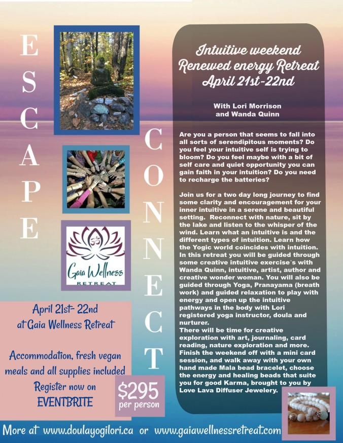 flyer for april 21 retreat